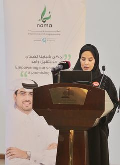"NAMA Graduates a New batch of Youth Capacities Building Program ""Tamayoz NAMA"""